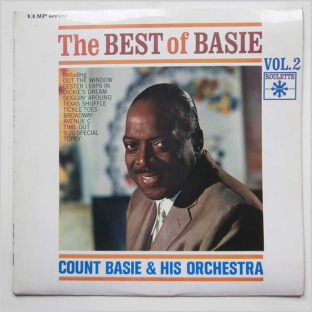 Count Base And His Orchestra - The Best Of Basie Vol. 2 (SRCP 3004)