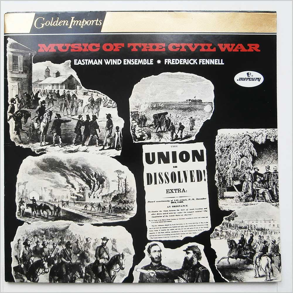 Frederick Fennell - Music Of The Civil War (SRI 2-77011)