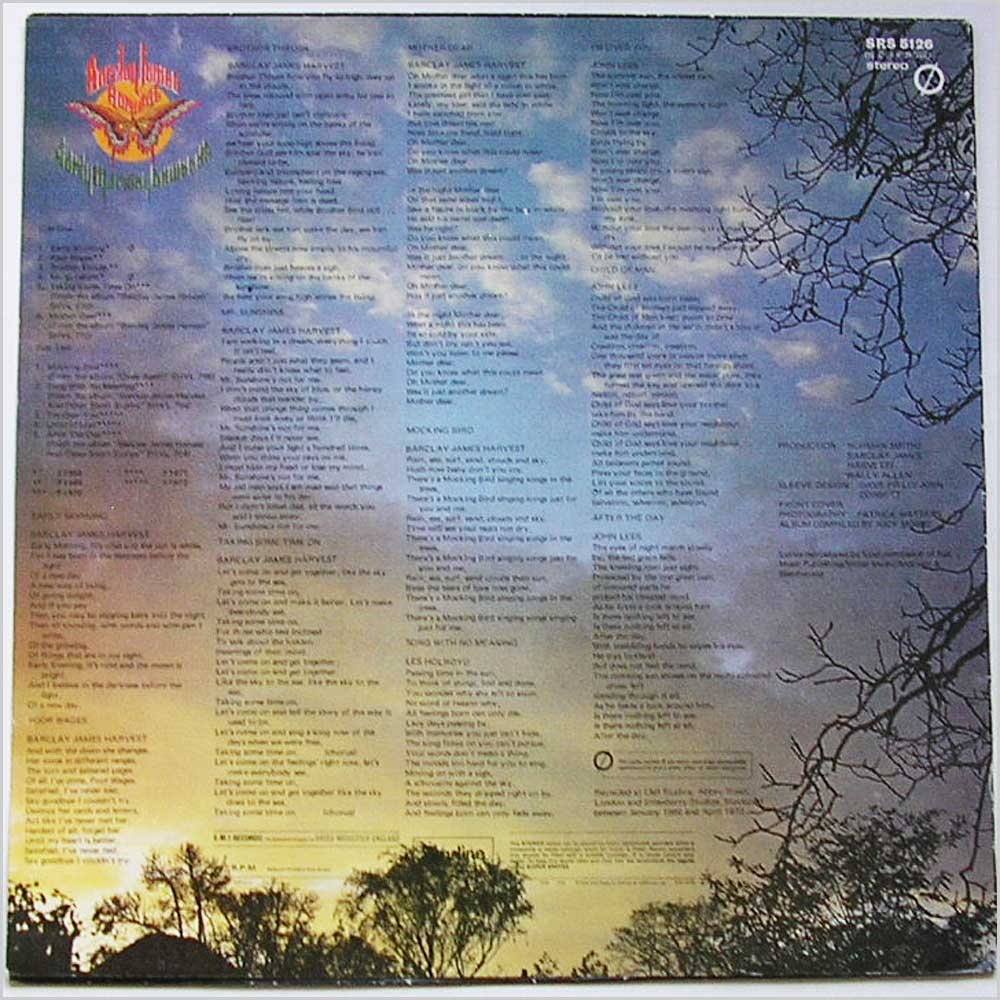 Barclay James Harvest - Early Morning Onwards (SRS 5126 )