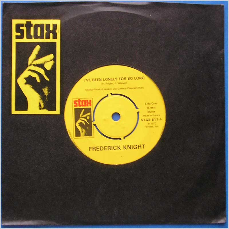 Frederic Knight - I've Been Lonely For So Long (STAX 811)