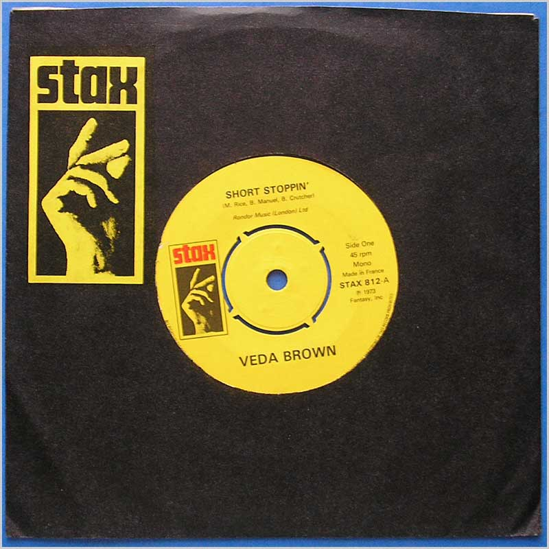 Veda Brown - Short Stoppin' (STAX 812)