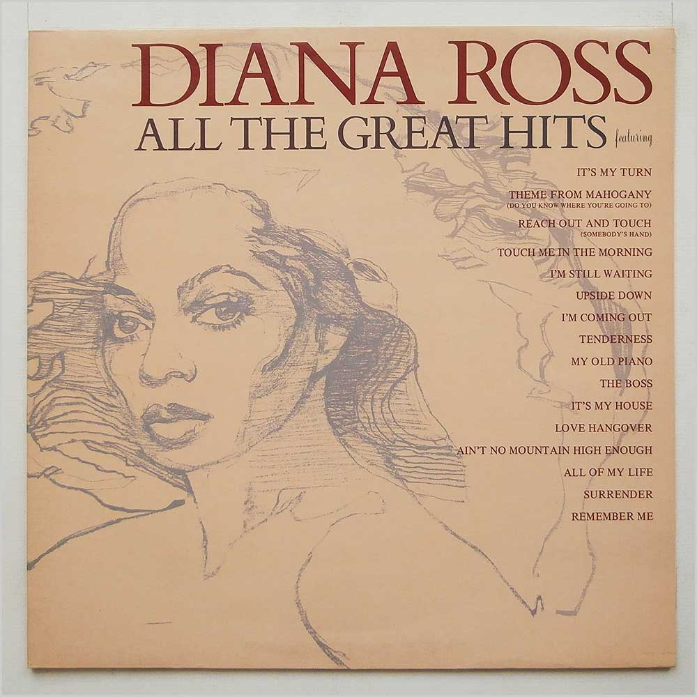 Diana Ross - All The Great Hits (STMA 8036)