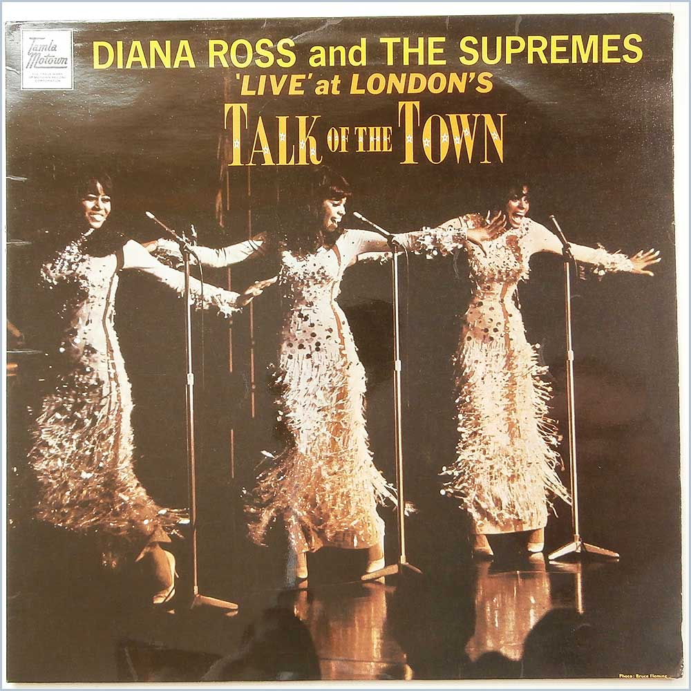 Diana Ross And The Supremes - Live At Londons Talk Of The Town (STML 11070)