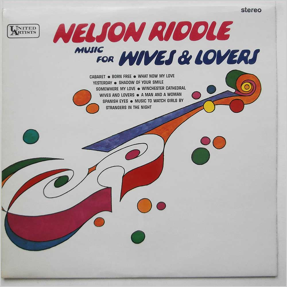 Nelson Riddle - Music For Wives And Lovers (SULP 1177)