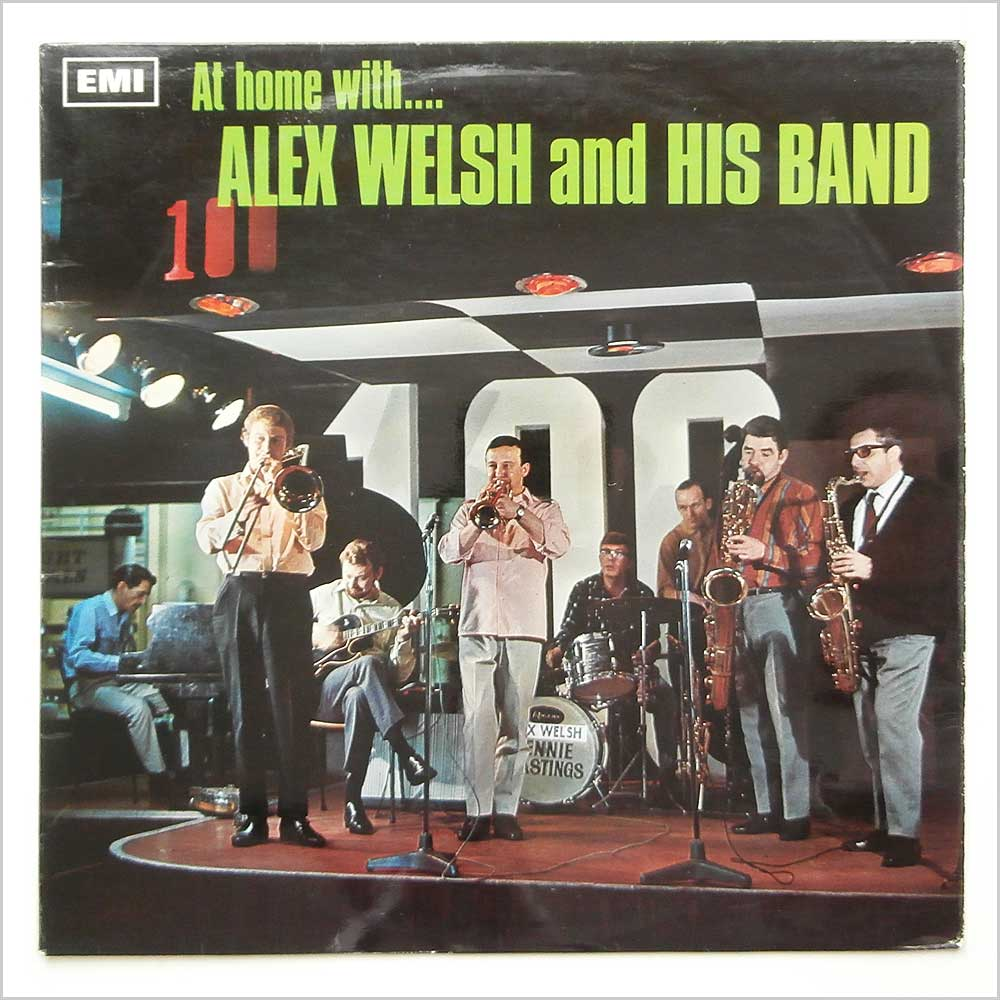 Alex Welsh And His Band - At Home With Alex Welsh And His Band (SX 6213)