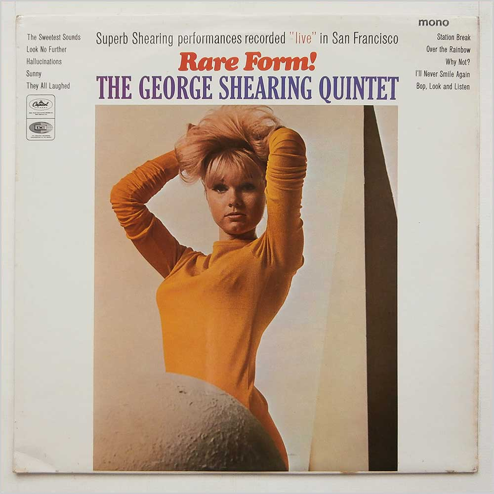 The George Shearing Quartet - Rare Form! (T 2447)