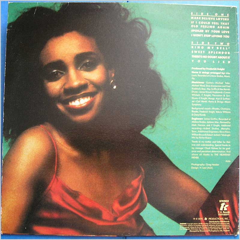 Anita Ward - Songs of Love (TKR 83371)