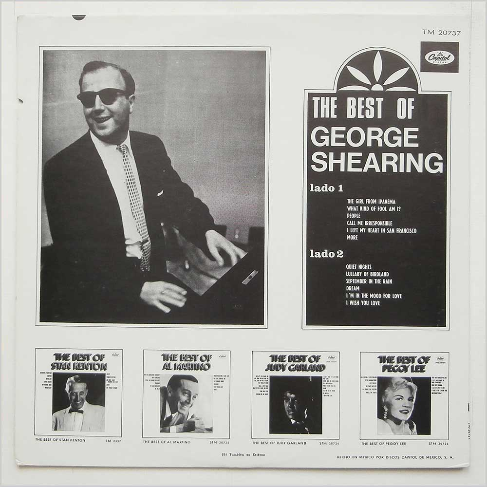 George Shearing - The Best Of George Shearing (TM-20737)