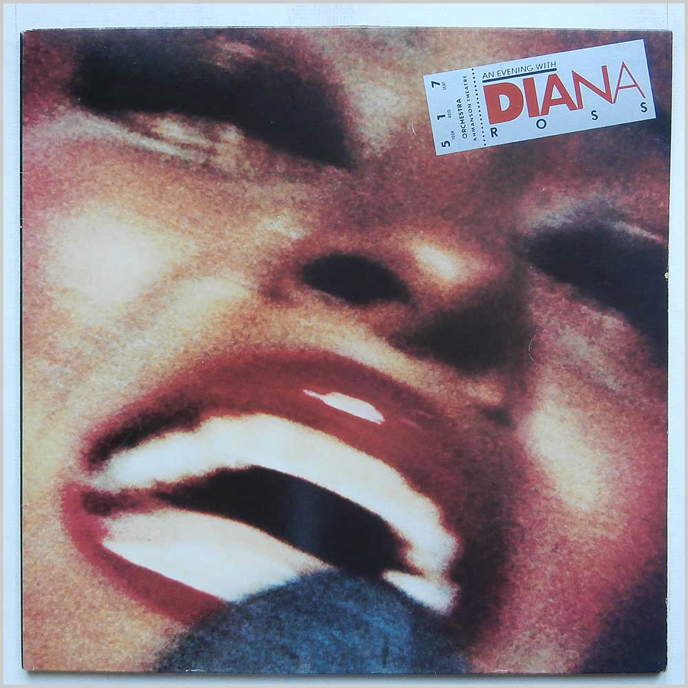 Diana Ross - An Evening With Diana Ross (TMSP 6005)