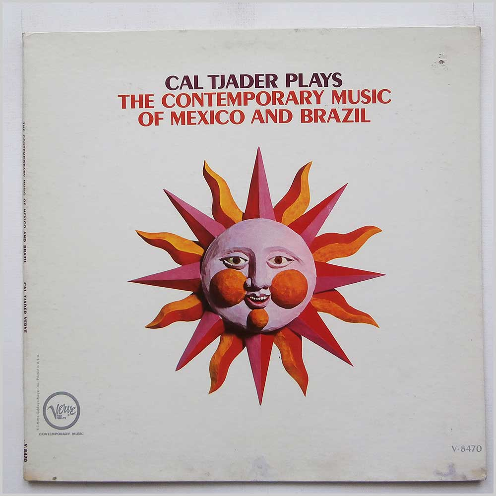 Cal Tjader - The Contempory Music Of Mexico And Brazil (V-8470)