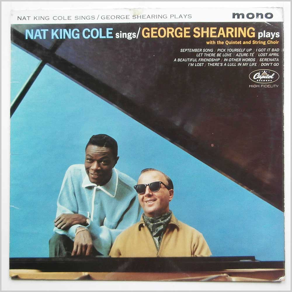 Nat King Cole and George Shearing - Nat King Cole Sings George Shearing Plays (W 1675)