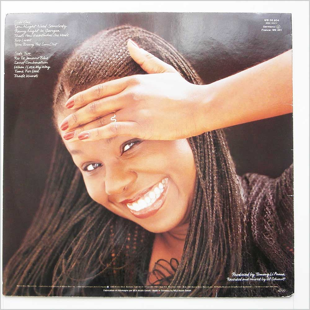 Randy Crawford - Secret Combination (WB 56 904)