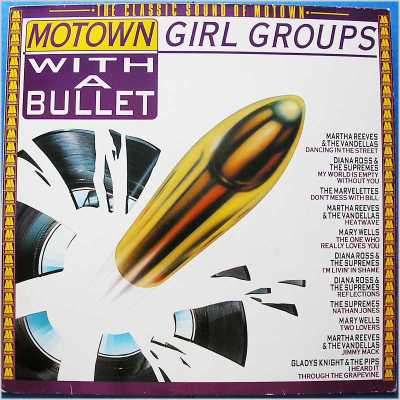 Various - Motown Girl Groups With A Bullet (WL72144)