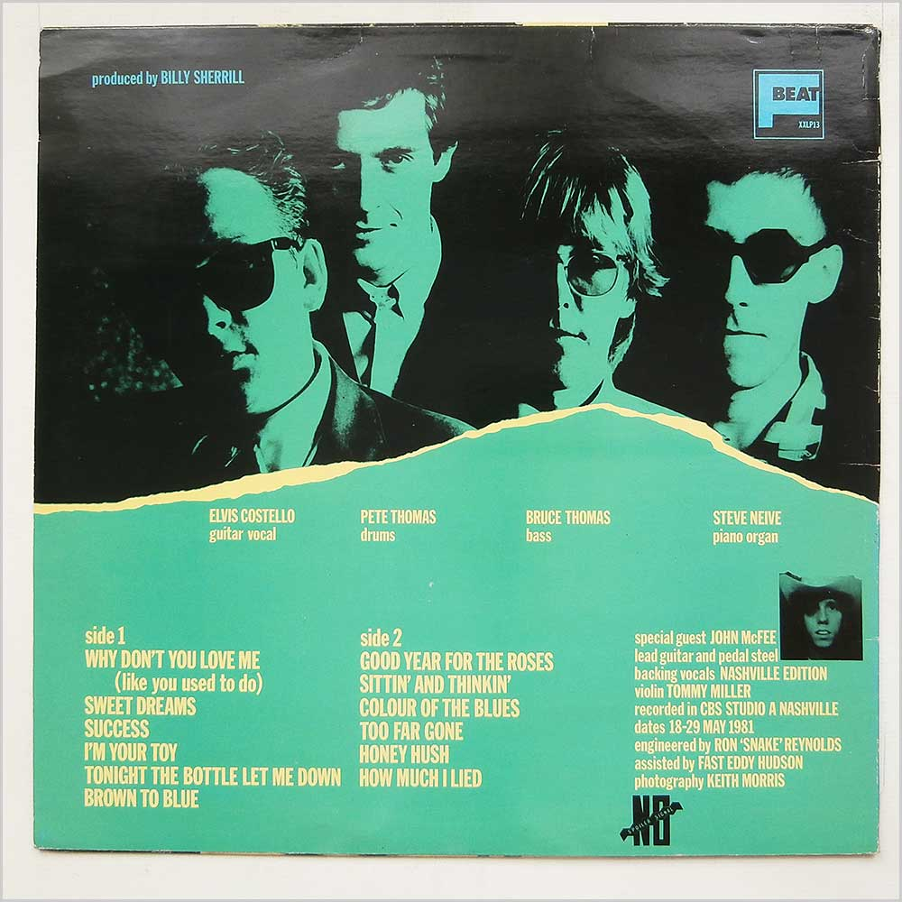 Elvis Costello And The Attractions - Almost Blue (XXLP13)