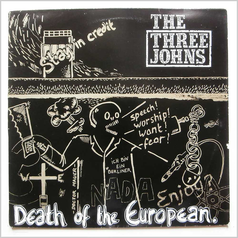 The Three Johns - Death Of The European (12 ABS 034)