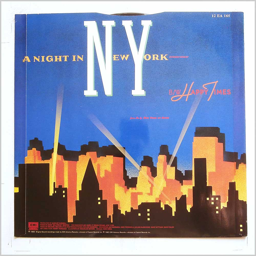 Elbow Bones and The Racketeers - A Night In New York (12 EA 165)