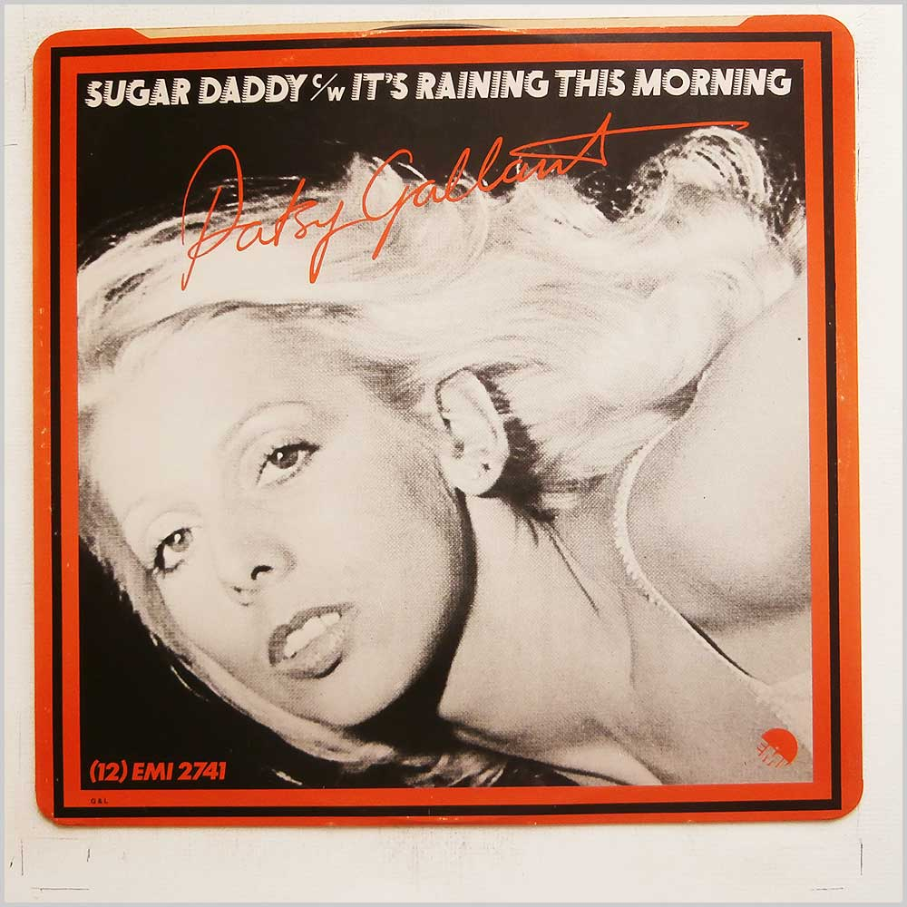 Patsy Gallant - Sugar Daddy / It's Raining This Morning (12 EMI 2741)