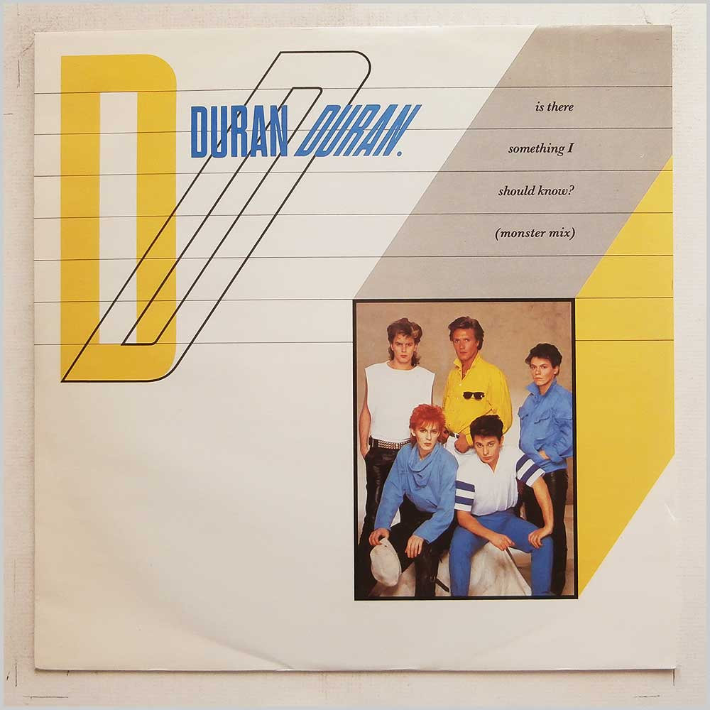 Duran Duran - Is There Something I Should Know? (Monster Mix) (12 EMI 5371)