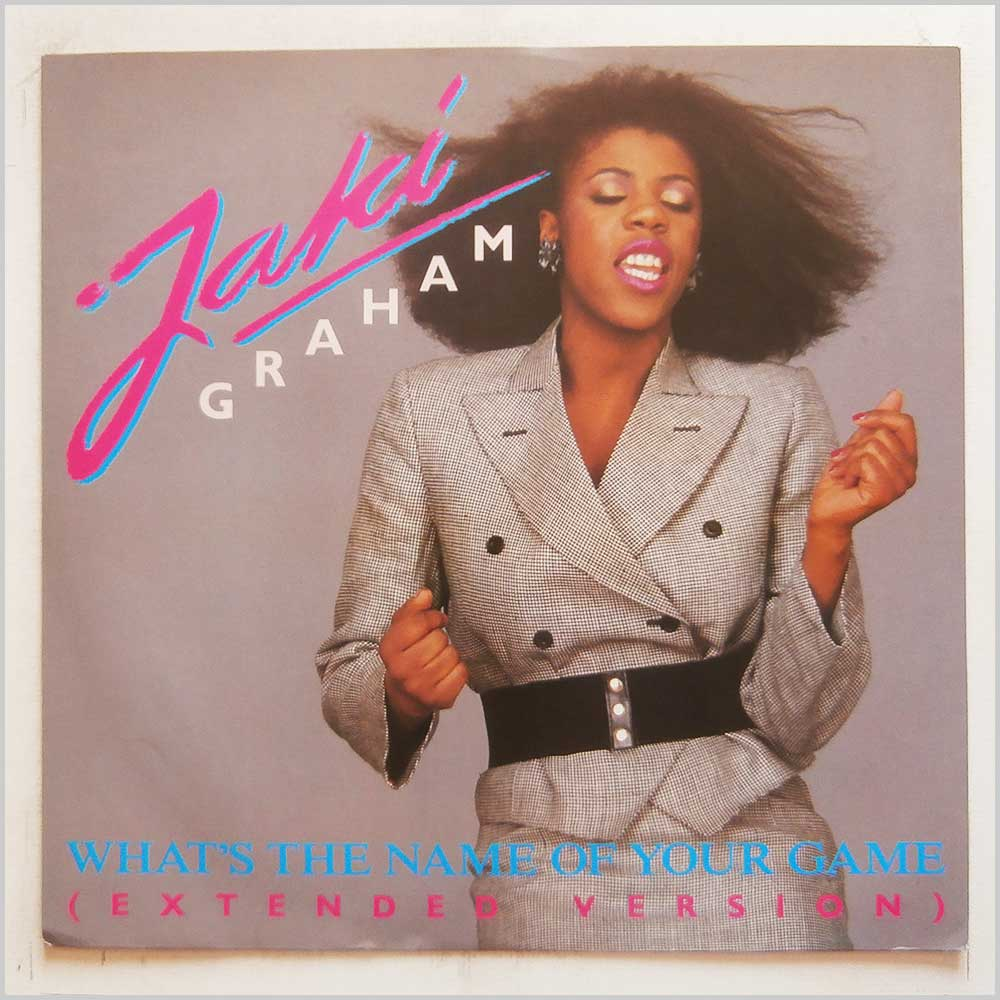 Jaki Graham - What's The Name Of Your Game (12 JAKI 1)