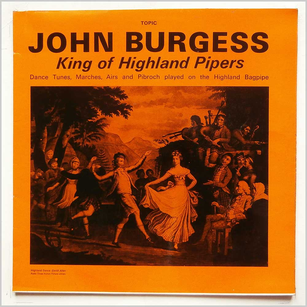 John Burgess - King Of The Highland Pipers (12T199)