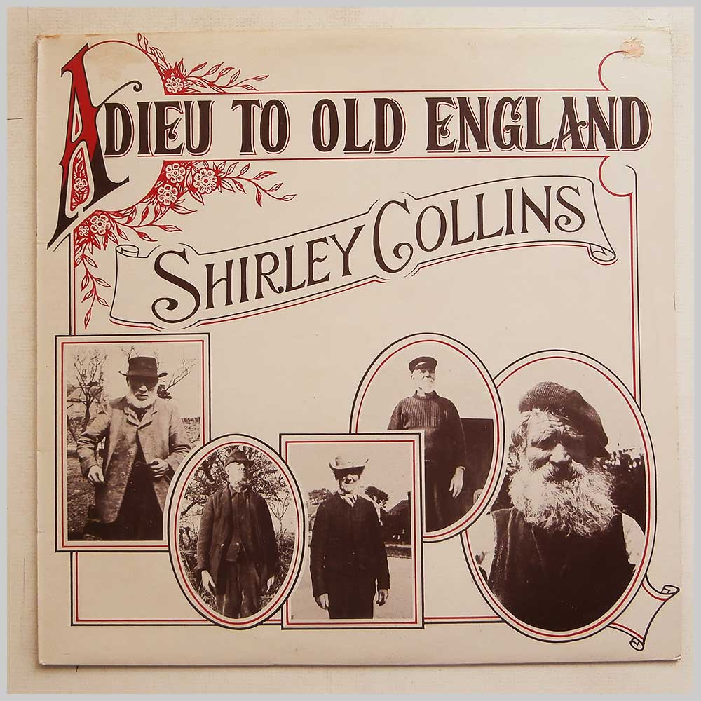 Shirley Collins - Adieu To Old England (12TS238)