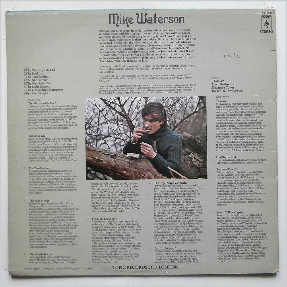 Mike Waterson - Mike Waterson (12TS332)
