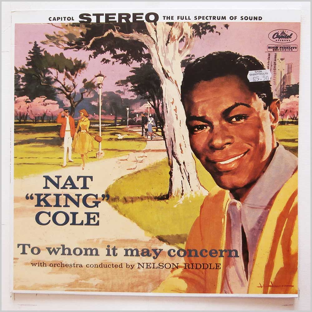 Nat King Cole - To Whom It May Concern (1552931)