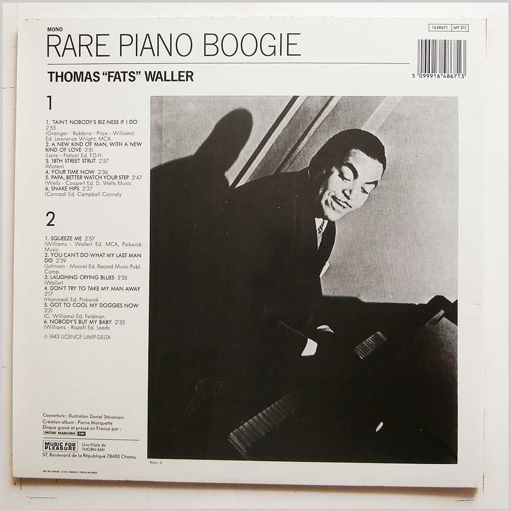Fats Waller - Rare Piano Boogie (1648671)