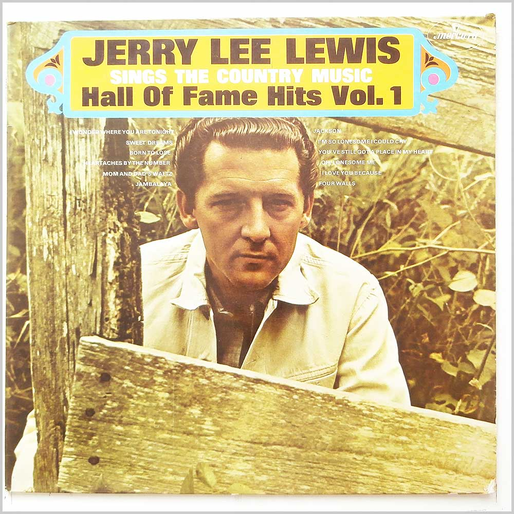 Jerry Lee Lewis - Jerry Lee Lewis Sings The Country Music Hall Of Fame Hits Vol. 1 (20157 SMCL)