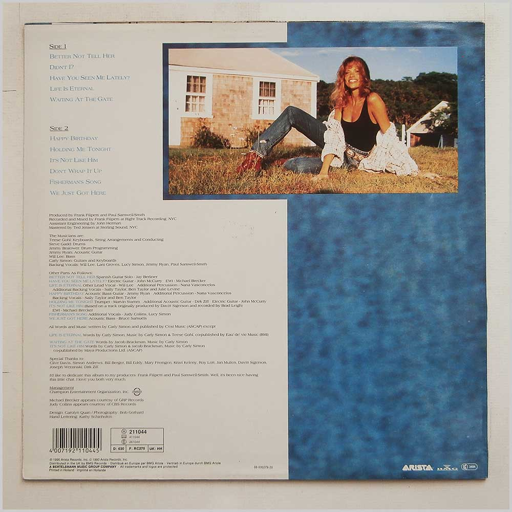 Carly Simon - Have You Seen Me Lately? (211044)