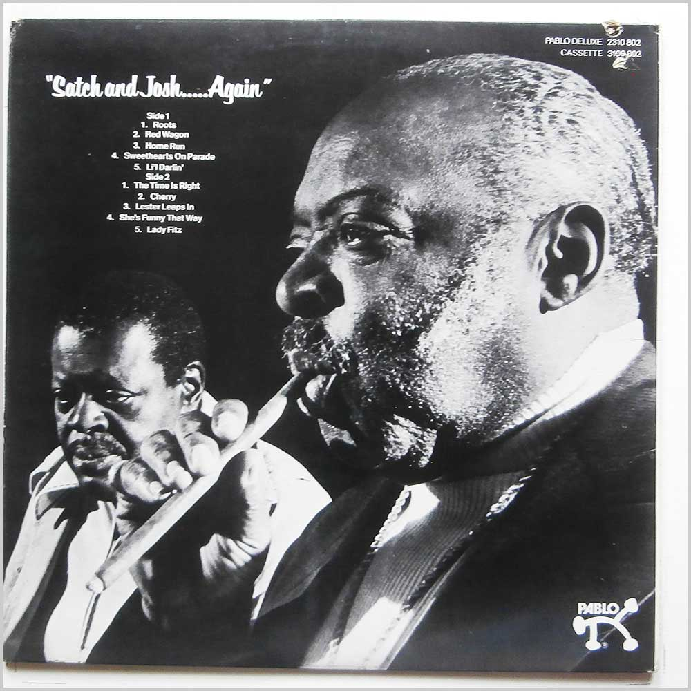 Oscar Peterson and Count Basie - Satch And Josh Again (2310 802)