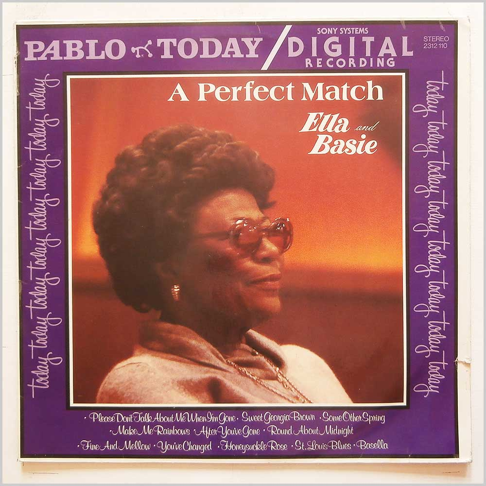 Ella Fitzgerald, Count Basie - A Perfect Match: Ella and Basie (2312 110)