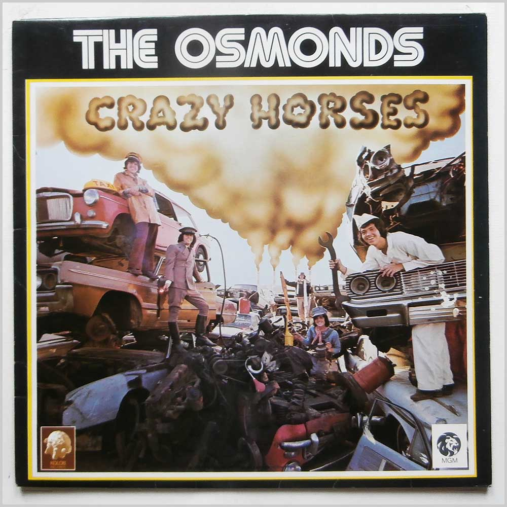 The Osmonds - Crazy Horses (2315 123)