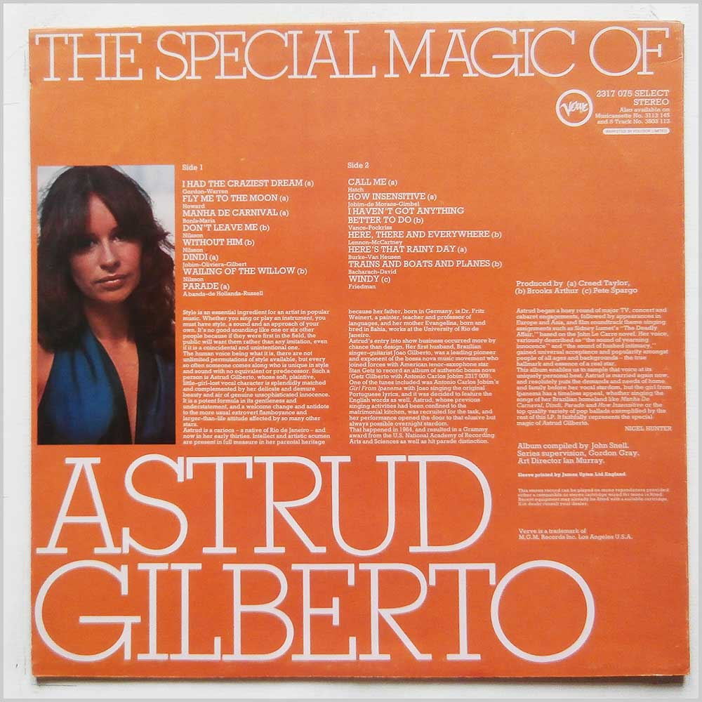Astrud Gilberto - The Special Magic Of Astrud Gilberto (2317 075)