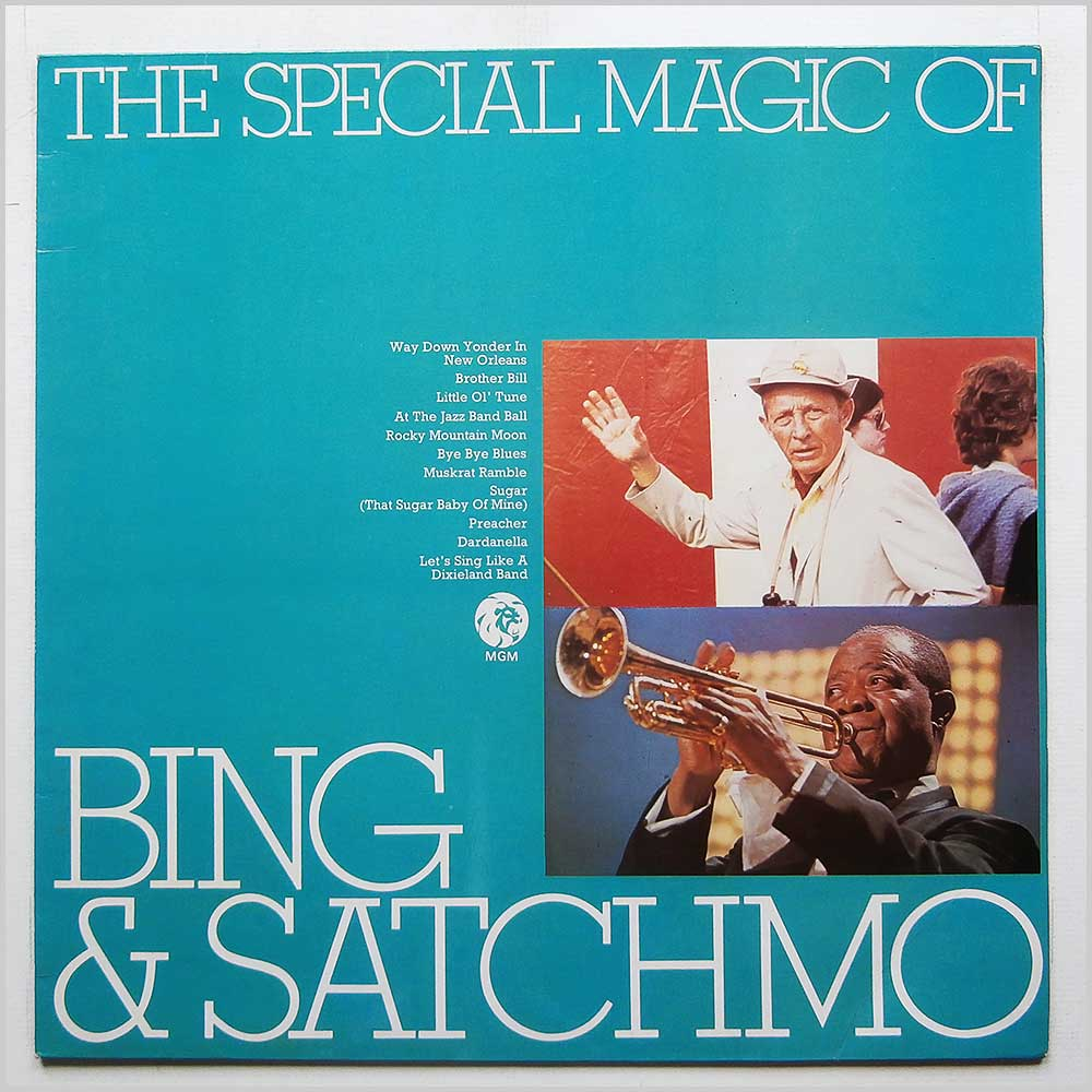 Bing Crosby, Louis Armstrong - The Special Magic Of Bing And Satchmo (2353 084)