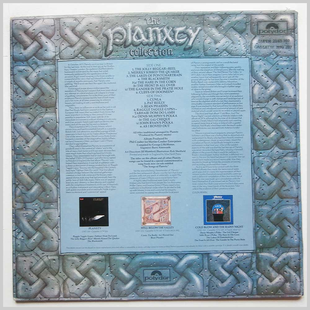 Planxty - The Planxty Connection (2383 397)