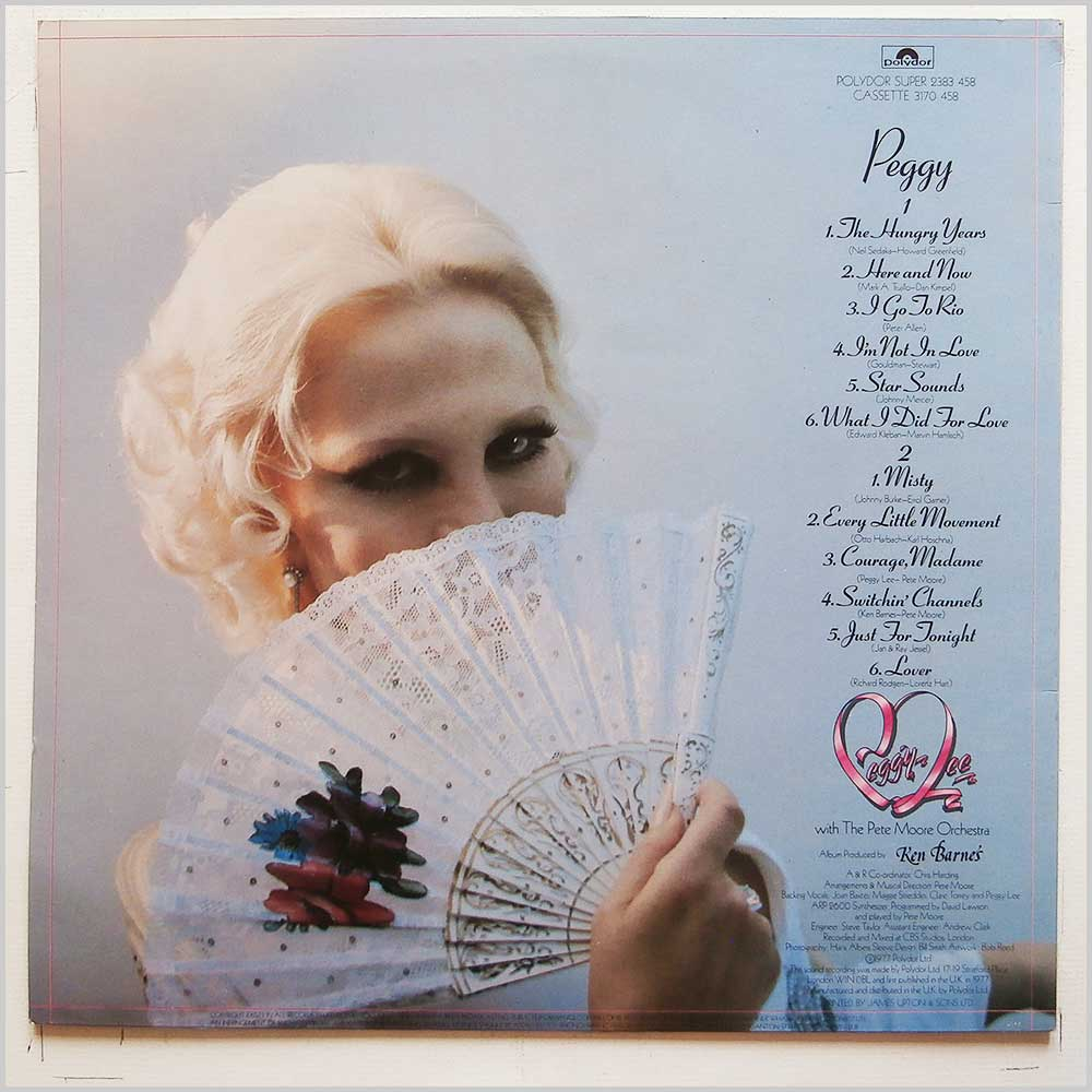 Peggy Lee - Peggy (2383 458)