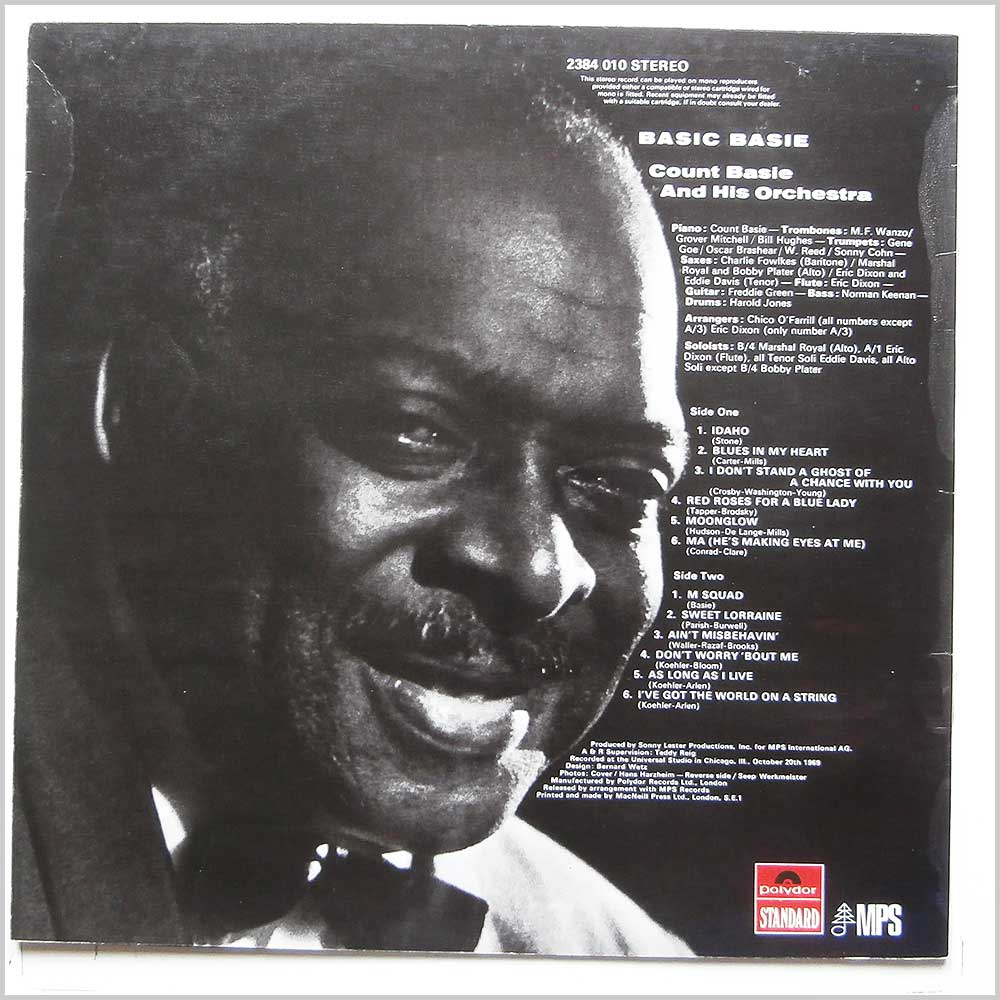 Count Basie and His Orchestra - Basic Basie (2384 010)