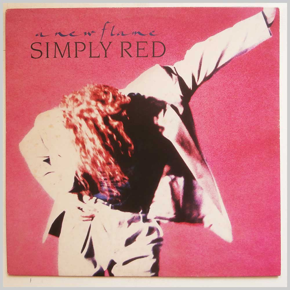 Simply Red - A New Flame (244 689-1)