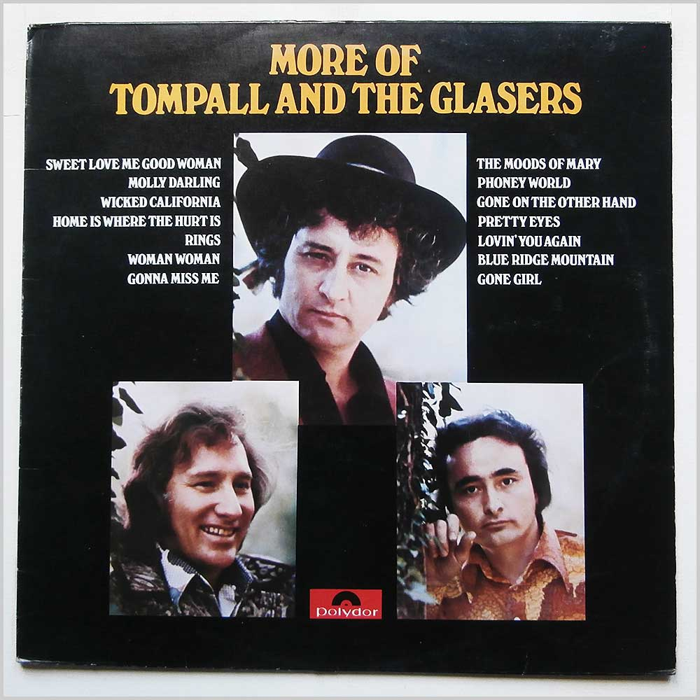 Tompall and The Glaser Brothers - More Of Tompall and The Glasers (2460 238)