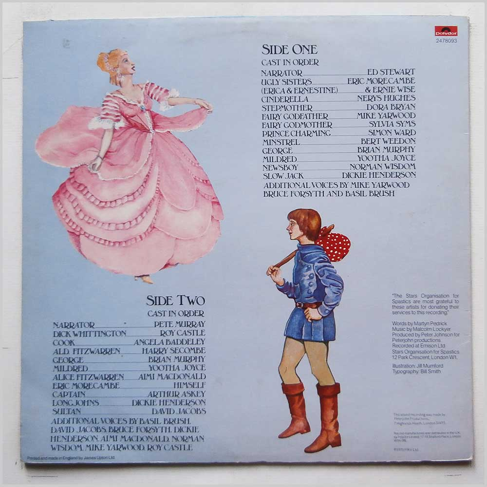 Various - Cinderella and Dick Whittington (2478 093)
