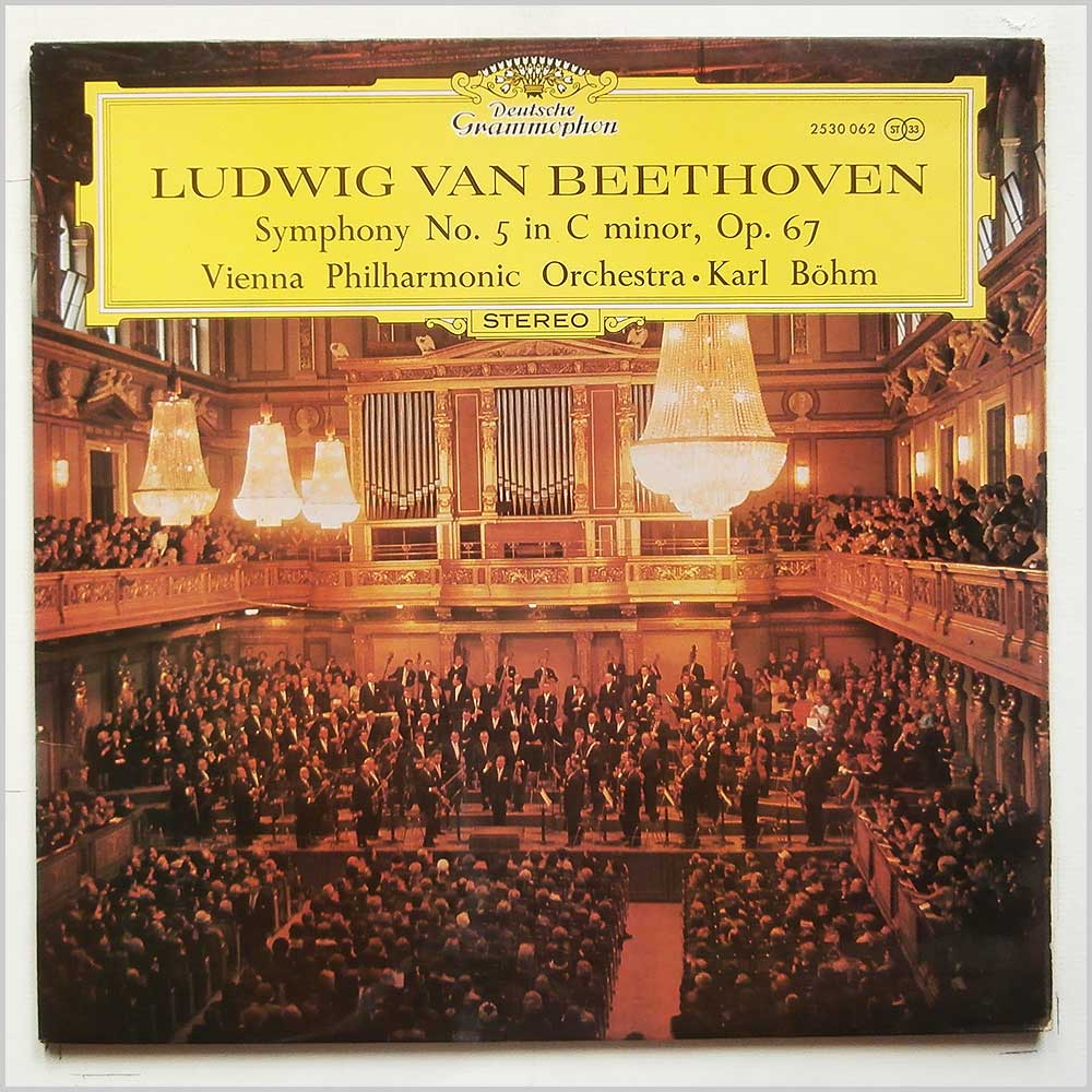 Karl Bohm, Vienna Philharmonic Orchestra - Ludwig Van Beethoven: Symphony No.5 in C Minor (2530 062)