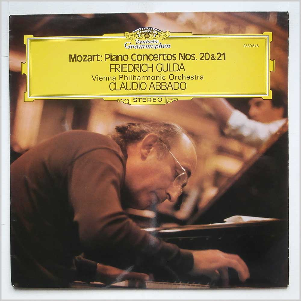 Claudio Abbadao - Mozart: Piano Concertos Nos. 20 and 21 (2530 548)