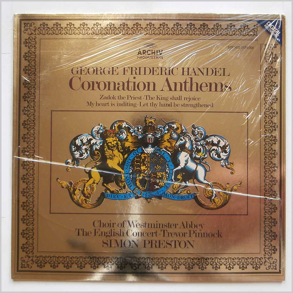 The Choir Of Westminster Abbey - George Frederic Handel Coronation Anthems (2534 005)