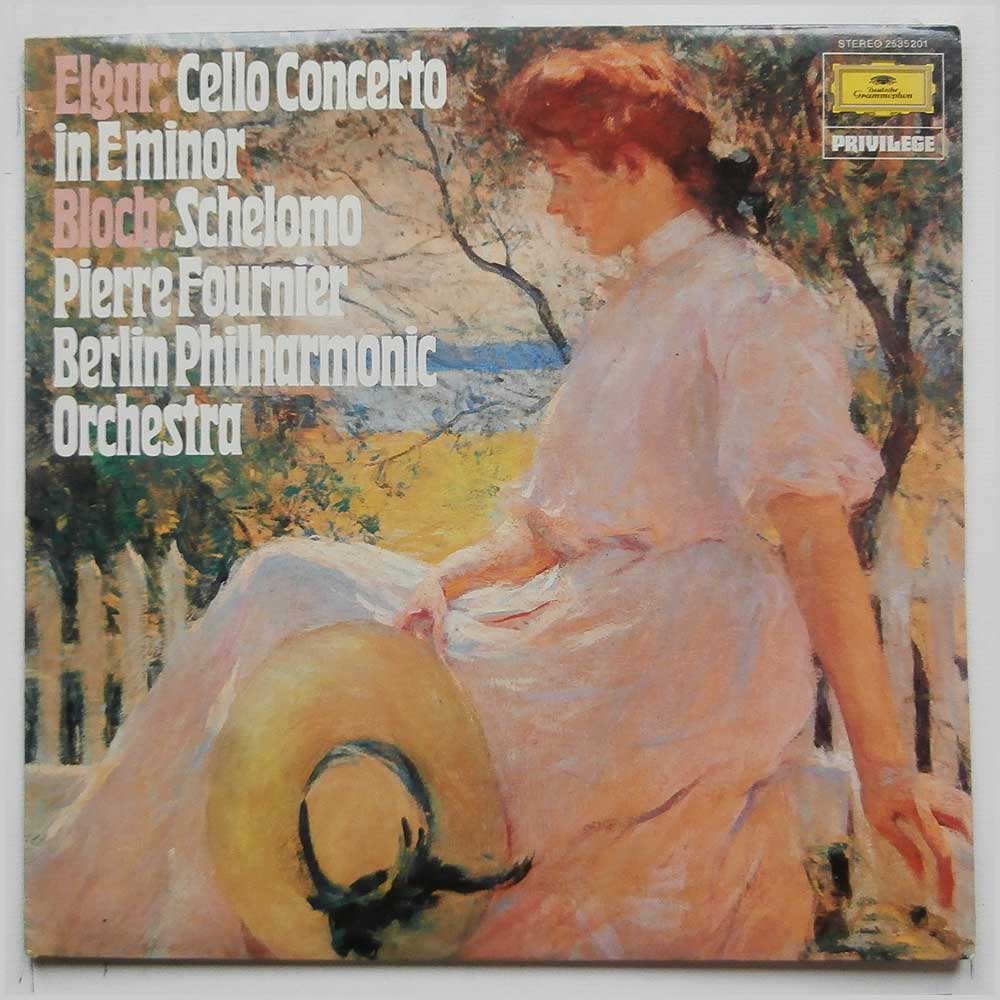 Pierre Fournier, Berlin Philharmonic Orchestra - Elgar: Cello Concerto in E Minor, Bloch: Schelomo (2535 201)