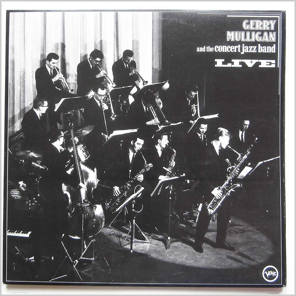Gerry Mulligan - Gerry Mulligan and The Concert Jazz Band Live (2683 057)