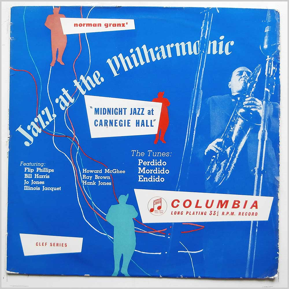 Norman Granz - Jazz At The Philharmonic, Midnight Jazz At Carnegie Hall (33CX 10020)