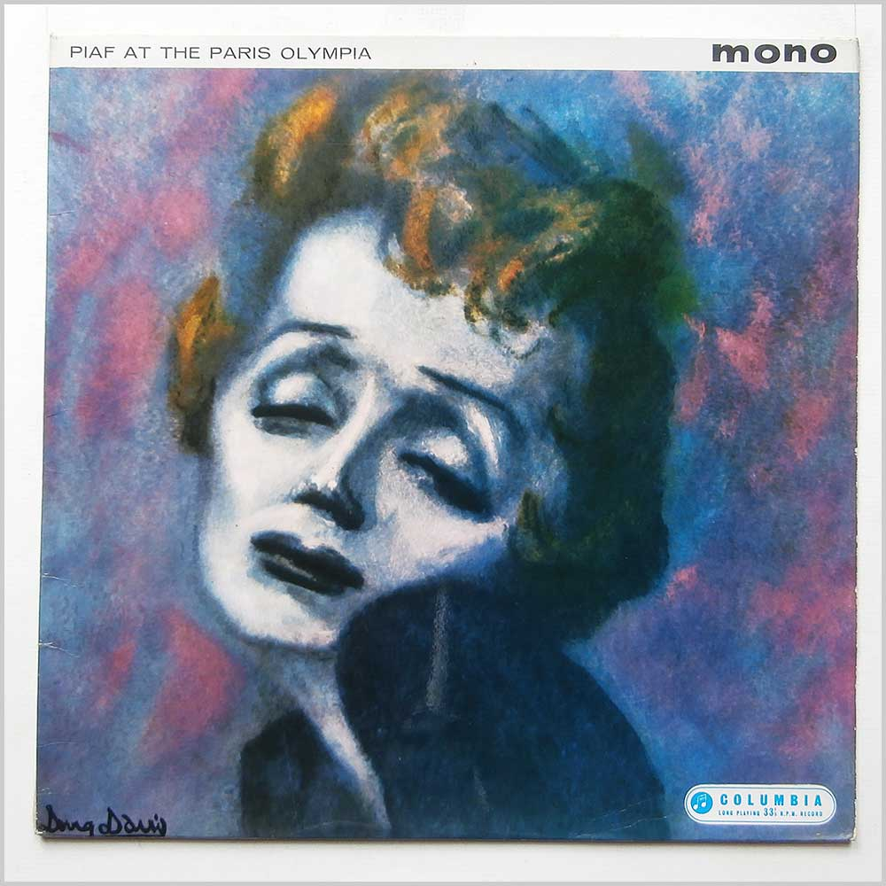 Edith Piaf - Piaf At The Paris Olympia (33SX 1330)