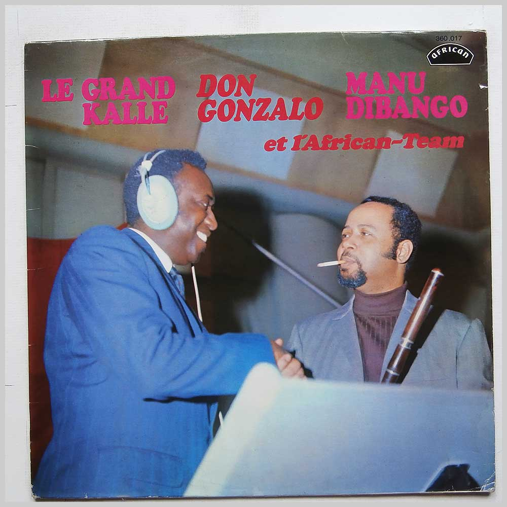 Le Grand Kalle, Don Gonzalo, Manu Dibango - L'African-Team (360.017)