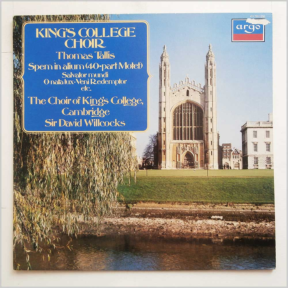 Kings College Choir - Thomas Tallis (411 722-1)